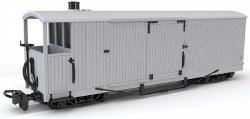 8 Ton Bogie Goods Brake Van, Ex L&B Souther Railway