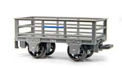 2 Ton Slate Waggons Pack of 3 Unbraked
