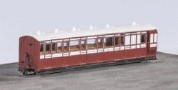 Lynton and Barnstaple Railway Brake Composite Coach L and B Livery No 15