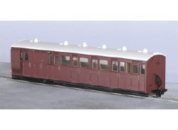 Unbranded Brake Composite Coach L&B Style in Indian Red