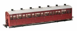 Lynton and Barnstaple Railway All Third Coach Indian Red Un-numbered