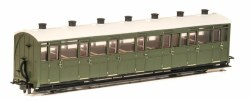 Lynton and Barnstaple Railway All Third Coach  Green Un-numbered