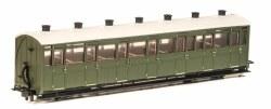 Lynton and Barnstaple Railway All Third Coach  Green Un-numbered