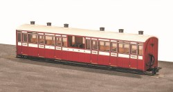 Lynton and Barnstaple Railway Centre Observation Coach L&B Livery No 7