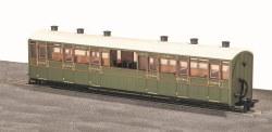 Lynton and Barnstaple Railway Centre Observation Coach SR Livery No 2466