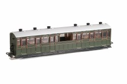 Lynton and Barnstaple Railway Centre Observation Coach SR Livery No 2468