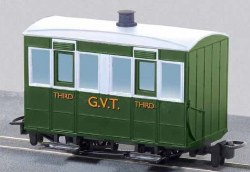 Glyn Valley Tramway Four Wheel Enclosed Third Class Passenger Coach
