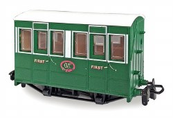 Tallylyn Railway (Glyn Valley Tramway) Four Wheel First Class Coach with Buffers