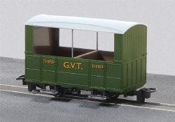 Glyn Valley Tramway Four Wheel Open Sided Third Class Passenger Coach
