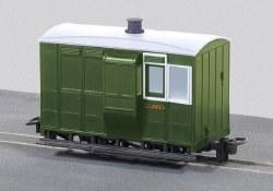 Glyn Valley Tramway Four Wheel Freelance Brake Coach