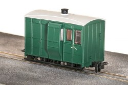 GVT 4-Wheel Brake Coach, Plain Green