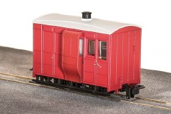 GVT 4-Wheel Brake Coach, Plain Red