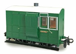 Four Wheel Freelance Brake Coach with Buffers