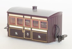 Ffestiniog Railway 'Bug Box' 4 Wheel Coach 1st Class