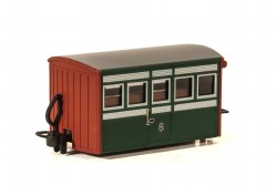 Ffestiniog Railway 'Bug Box' 4 Wheel Coach Early Preservation Livery, 1st Class