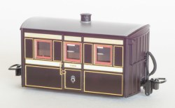 Ffestiniog Railway 'Bug Box' 4 Wheel Coach 3rd Class