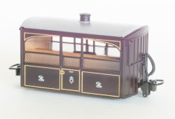 Ffestiniog Railway 'Bug Box' 4 Wheel Observation Coach