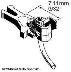 Kadee 17  NEM362 European Coupler Very Short 7.11mm (2pr)