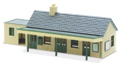 Country Station Building stone type
