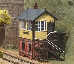 Signal Box with Brick Base