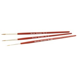 Thre Paint Brushes (Sizes 000, 0, 2)