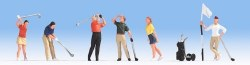 Golfers Figure Set (6) (HO Scale)