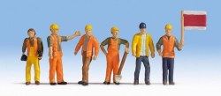 Track Workers Figure Set (6)