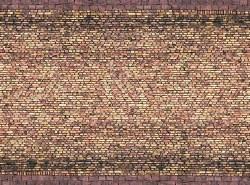 Yellow Brick 3D Cardboard Sheet 25 x 12.5cm