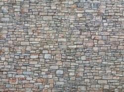 Quarrystone Wall 3D Cardboard Sheet 25 x 12.5cm