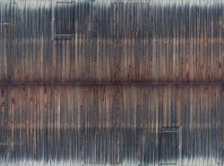 Weathered Timber Wall 3D Cardboard Sheet 25 x 12.5cm