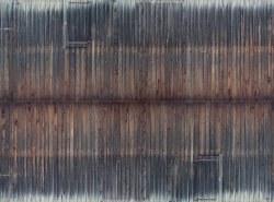 Weathered Timber Wall 3D Cardboard Sheet 25 x 12.5cm
