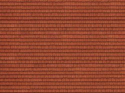 Roof Tile 3D Cardboard Sheet 25 x 12.5cm