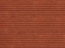 Roof Tile 3D Cardboard Sheet 25 x 12.5cm