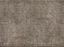 Plain Grey Tile 3D Cardboard Sheet 25 x 12.5cm