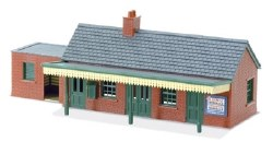 Country Station Building brick type