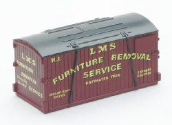 Containers only: Furniture Removals GWR and LMS