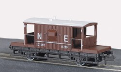 15ft Wheelbase Brake Van, NE,