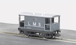 10ft Wheelbase Brake Van,  LMS