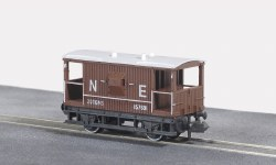 10ft Wheelbase Brake Van,  NE,