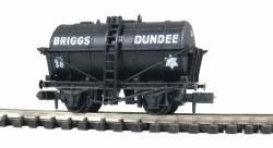 Briggs of Dundee Tank Wagon black No.42