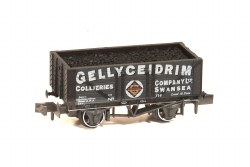 10ft Wheelbase Coal, 7 Plank 'Gellyceidrim Collieries Co Ltd' Swansea
