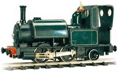 0-4-2 Fletcher Jennings Saddle Tank Body