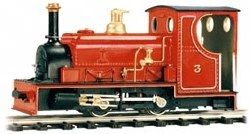 0-4-0 Hunslet Quarry Engine Body