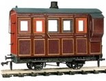 4 Wheel Coach/Brake maroon livery