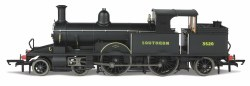 Class 0415 Adams Radial 4-4-2T Southern Late Sunshine Lettering 3520 DCC Sound