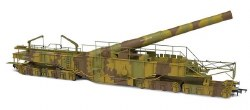 Rail Gun WWI Boche Buster