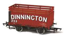 7 Plank Coke Wagon 'Dinnington' 253 with 2 Coke Rails