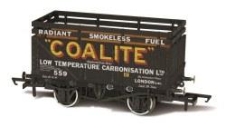7 Plank Coke Wagon 'Coalite' 552 with 2 Coke Rails