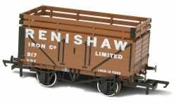 7 Plank Mineral Wagon 'Renishaw Iron Co' 917 (2 Coke Rails)