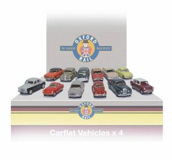 Carflat Car Pack 1960s Cars - Set of 4